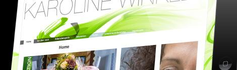 Karoline Winkler Webseite