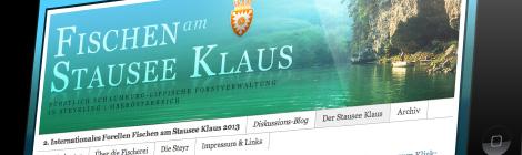 Fischen am Stausee Klaus Webseite