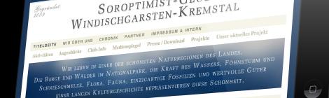 Soroptimist Club  Webseite