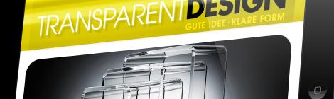 Transparent Design Webseite