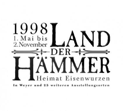 Land der Haemmer Ooe Landesausstellung 1998-Logo