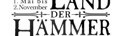 Land der Hämmer Logo