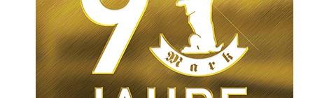 Mark | 90 Jahre Logo
