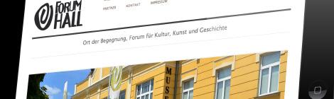 Forum Hall Webseite