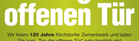 Kirchdorfer Zementwerk«Tag der offenen Tür»