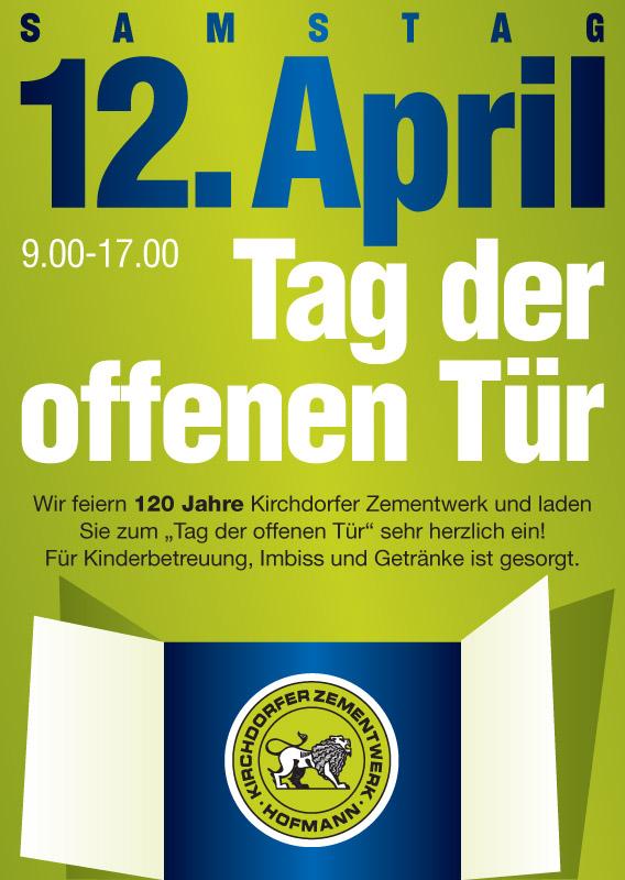Tag der offenen türe  Kirchdorfer Zementwerk«Tag der offenen Tür»